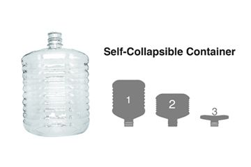 The compressible bottle